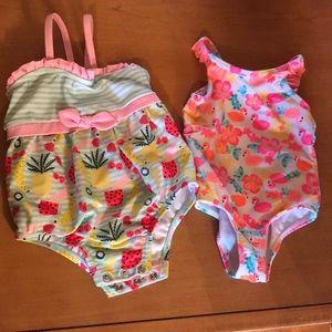 2 very cute bathing suits
